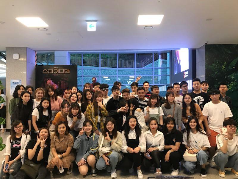 班级游玩釜山电影博物馆